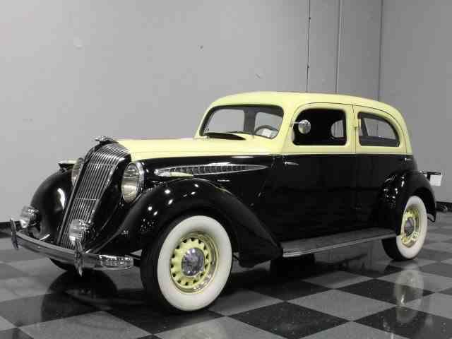 1936 Hupmobile 618 G Touring Sedan   600619