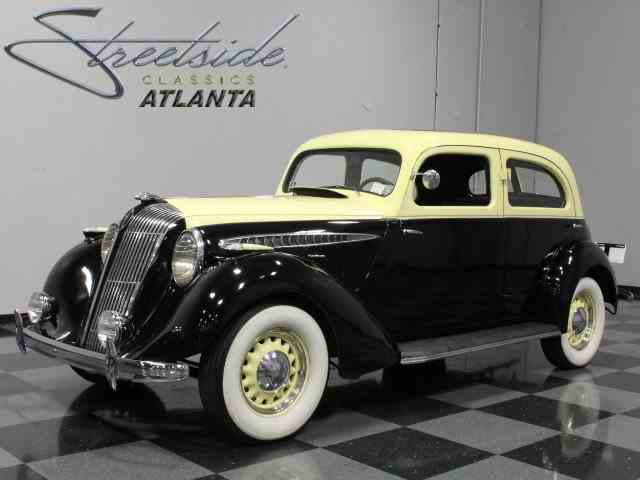 1936 Hupmobile 618 G Touring Sedan | 600619