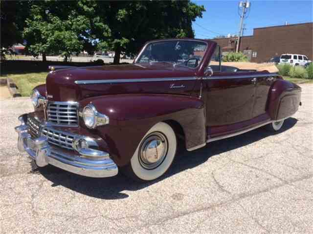 1948 Lincoln Convertible | 609475