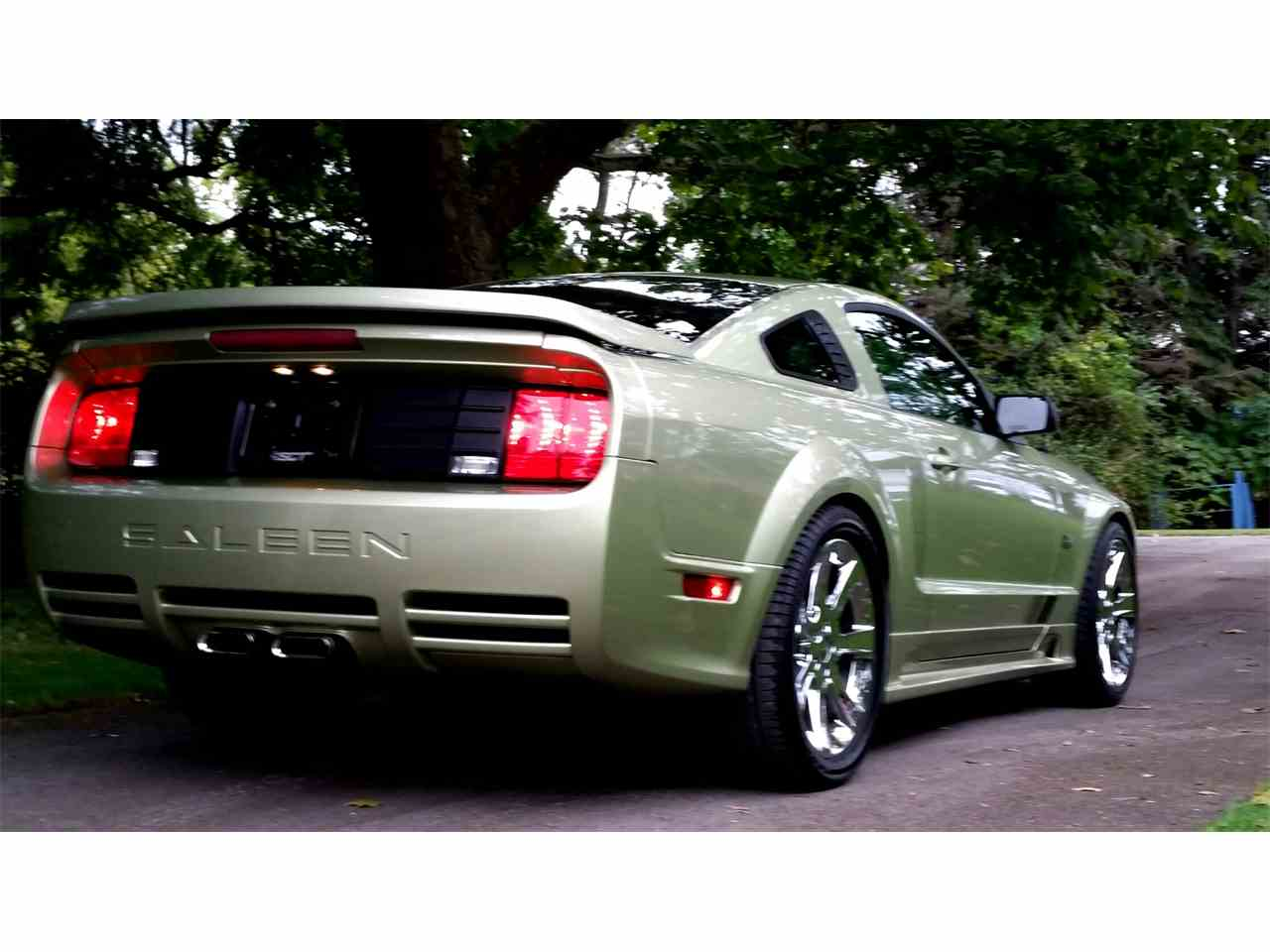 2005 ford mustang saleen for sale cc 609496. Black Bedroom Furniture Sets. Home Design Ideas