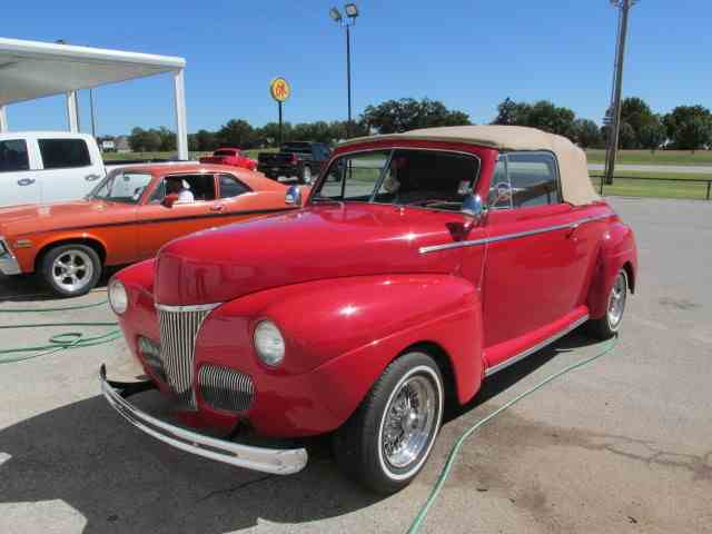 Picture of '41 Convertible - D62R