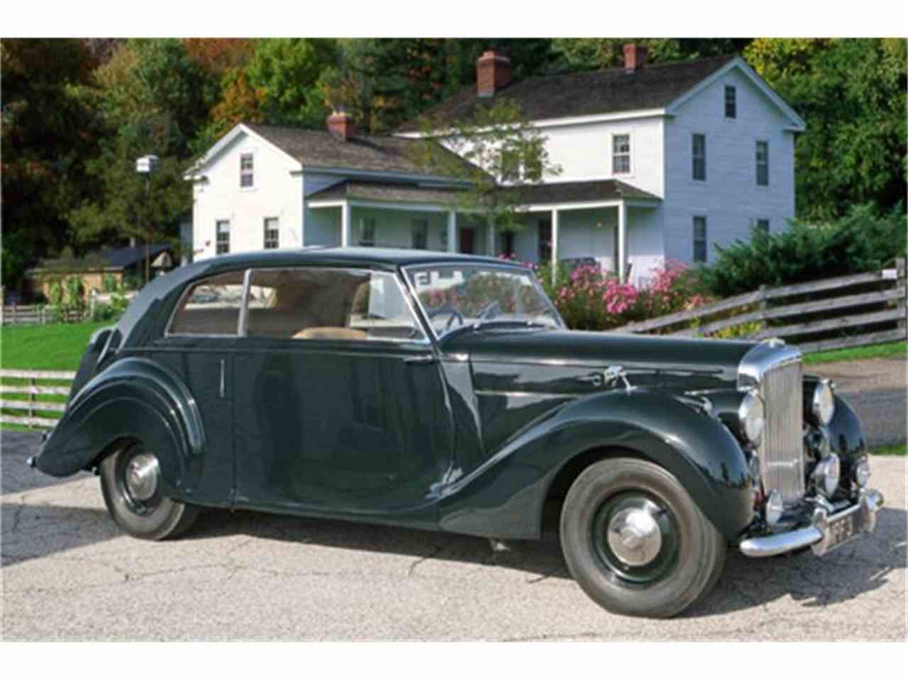 1948 Bentley Mark IV 2 door James Young Coupe for Sale ...
