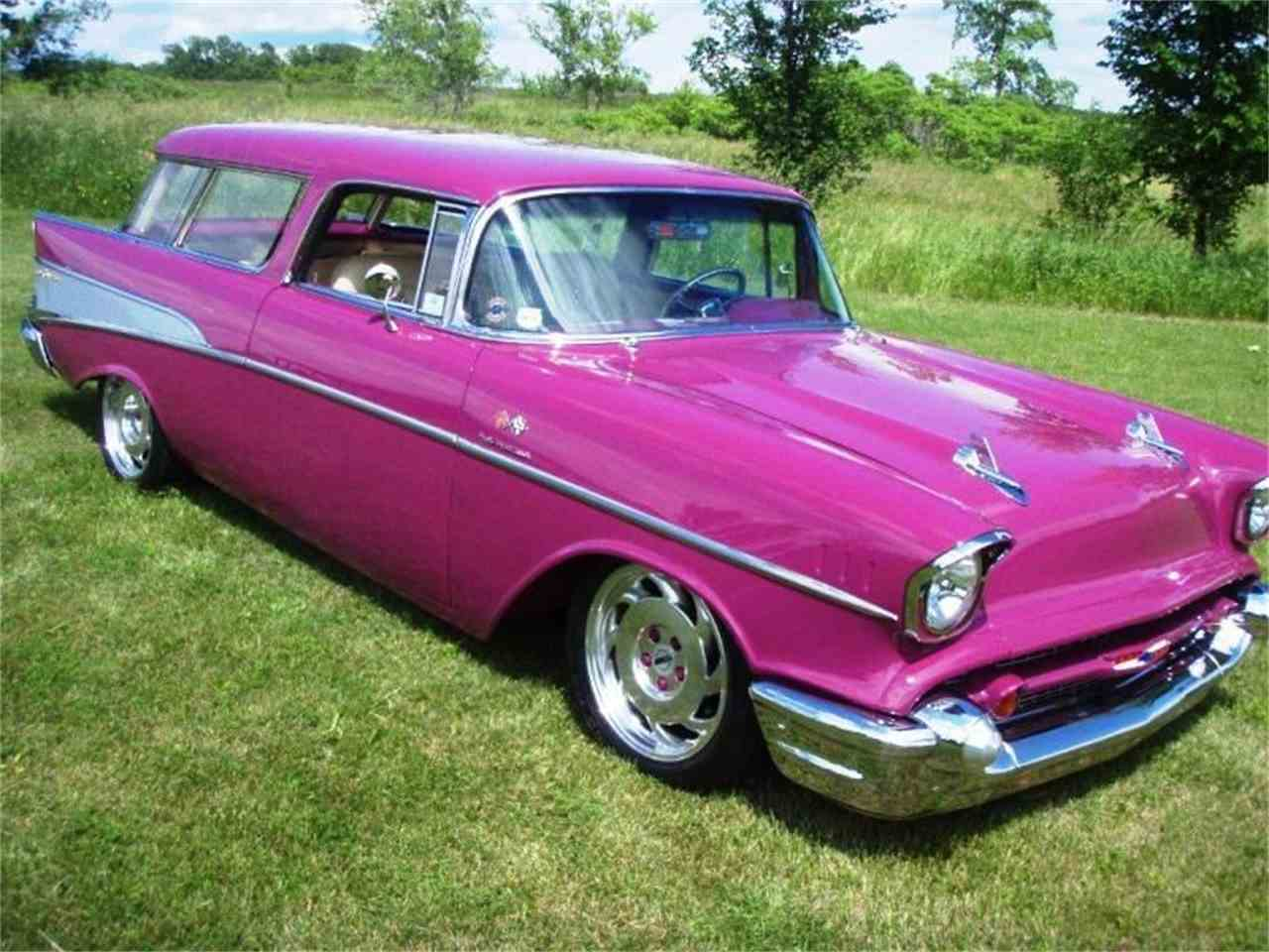1957 chevrolet nomad super custom for sale classiccars. Black Bedroom Furniture Sets. Home Design Ideas