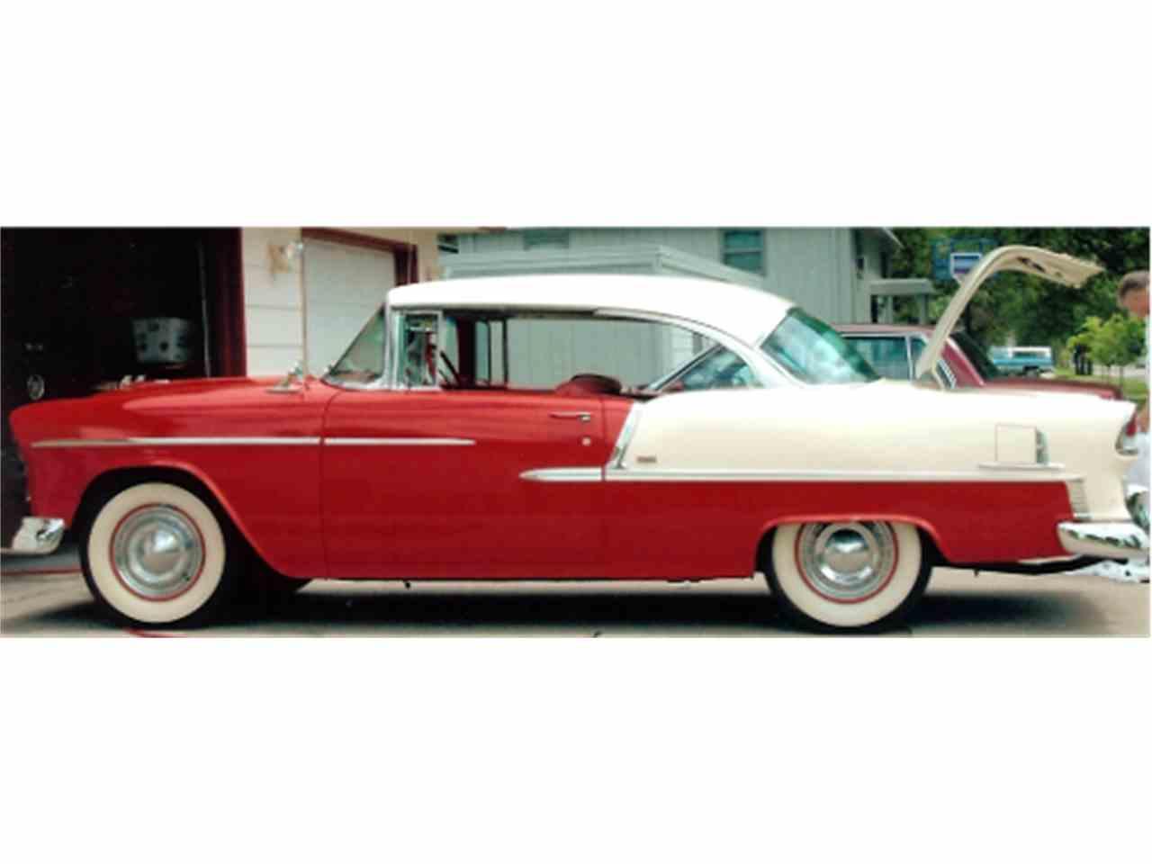 1955 chevrolet bel air for sale cc 632276. Black Bedroom Furniture Sets. Home Design Ideas