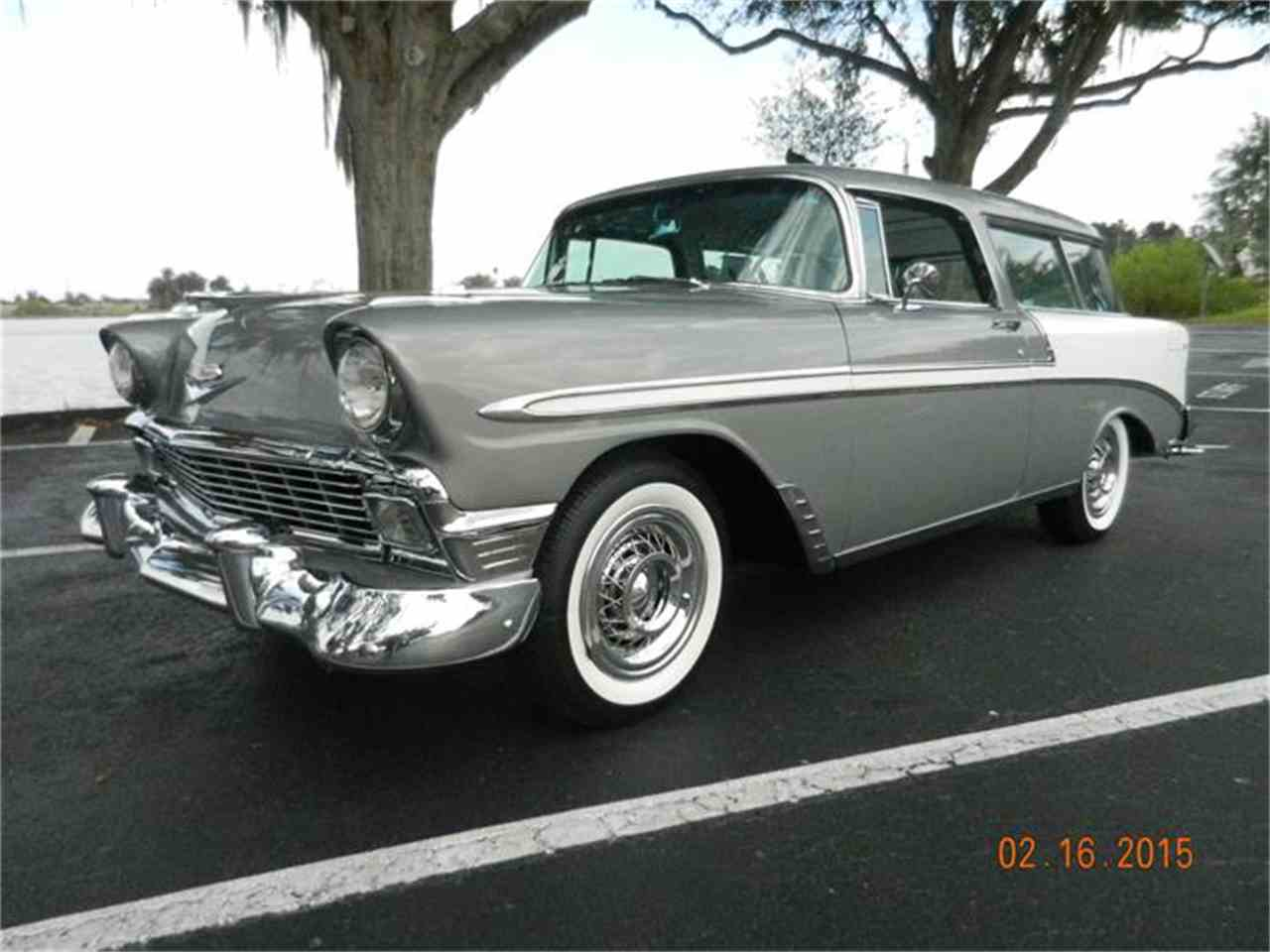 1956 chevrolet bel air for sale classic car liquidators - 1956 Chevrolet Nomad For Sale Cc 632842