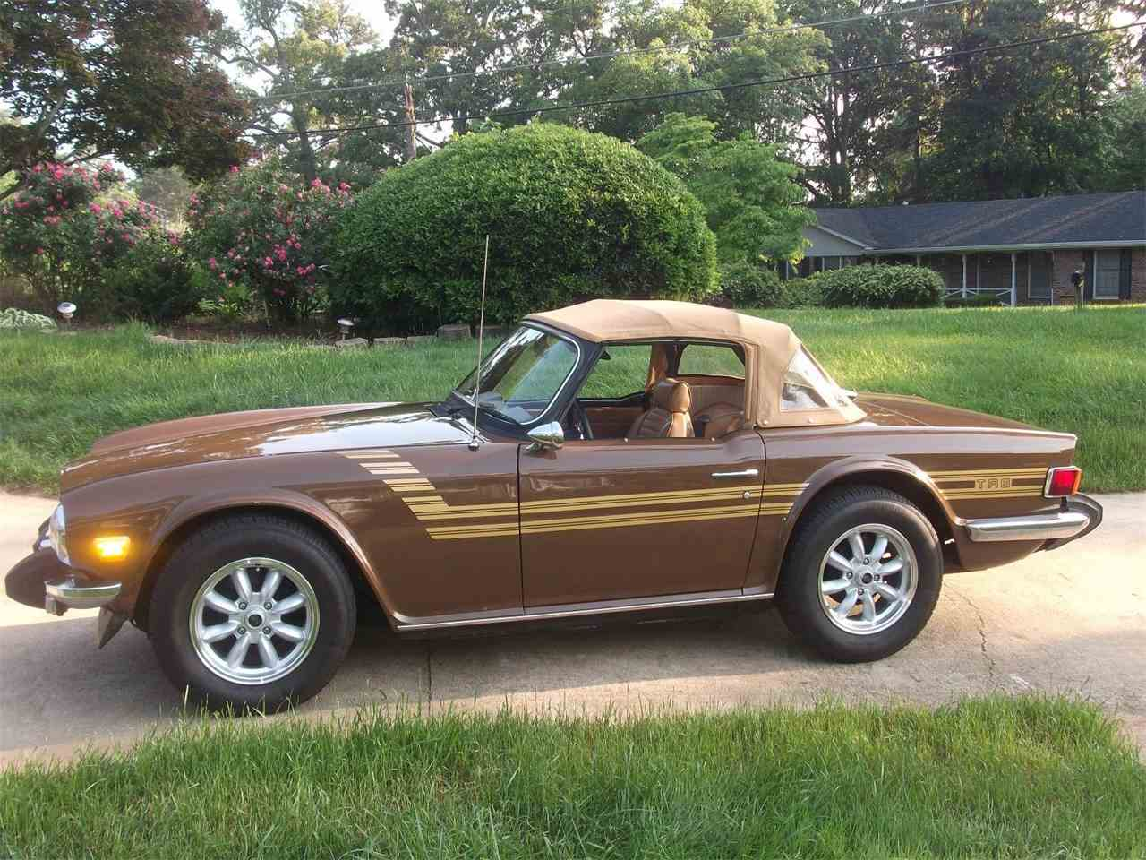 Large Picture of '75 TR6 - DKX0