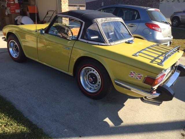 1975 Triumph TR6   633636