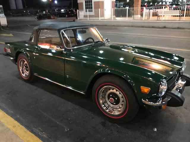 1975 Triumph TR6 | 633636