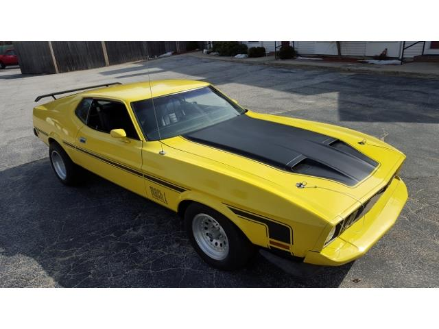 1973 Ford Mustang Mach 1 | 634867