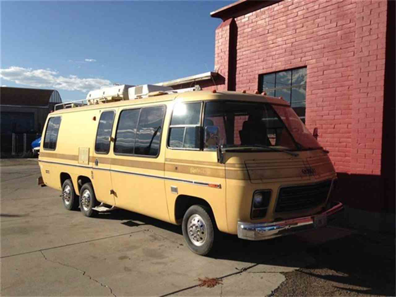 1976 gmc motorhome for sale cc 636344. Black Bedroom Furniture Sets. Home Design Ideas