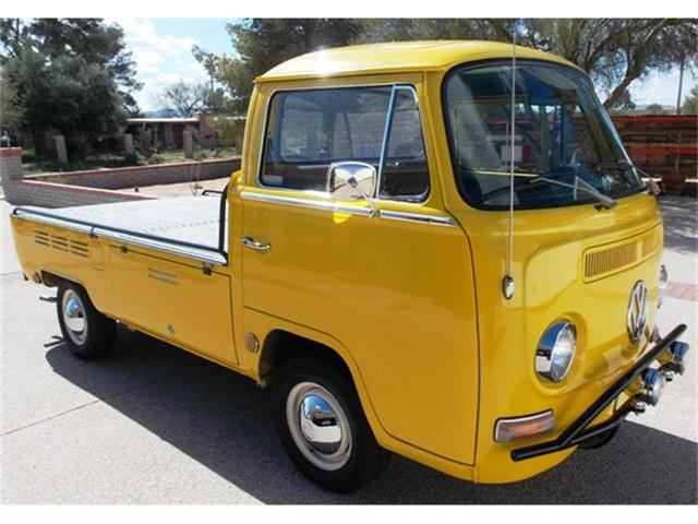 classic volkswagen pickup for sale on 2 available. Black Bedroom Furniture Sets. Home Design Ideas