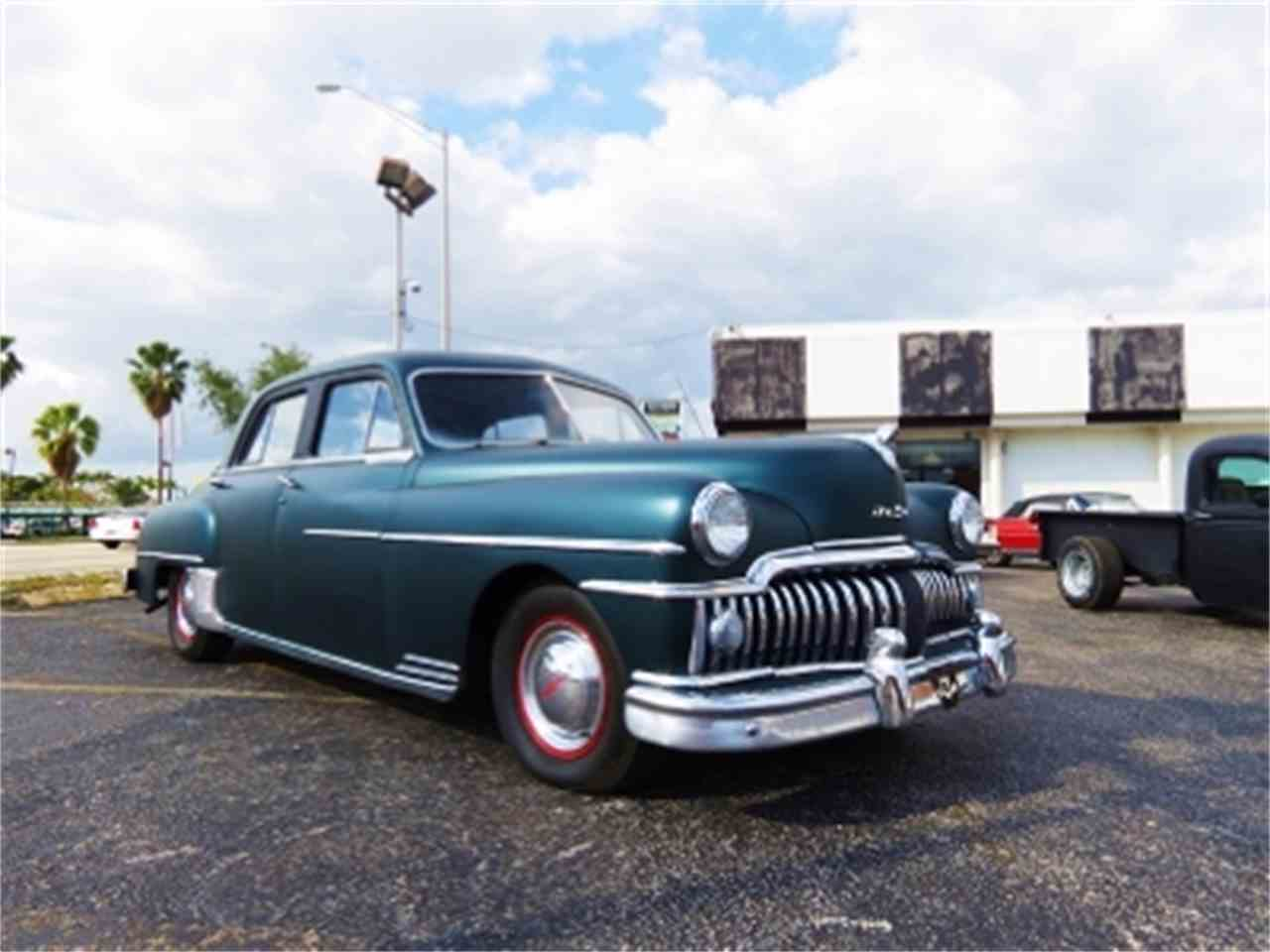 1950 desoto 4 dr sedan for sale cc 639424. Black Bedroom Furniture Sets. Home Design Ideas