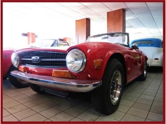 1970 Triumph TR6   641997