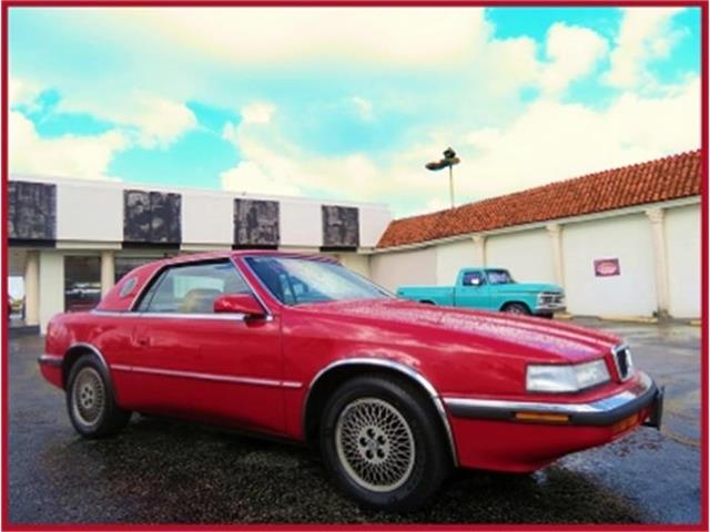 1989 Chrysler TC by Maserati | 645054
