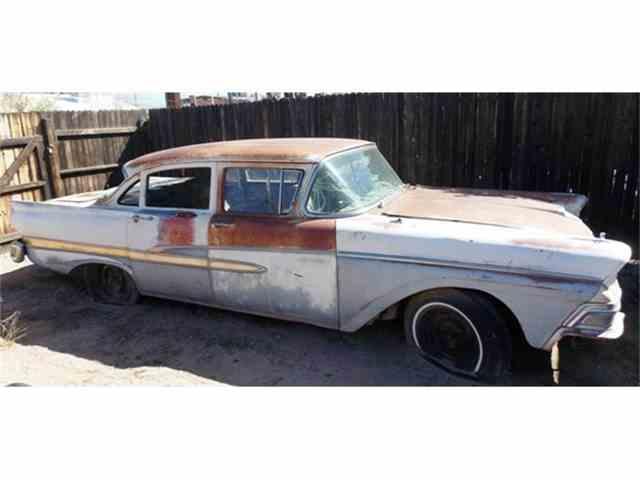 1958 Ford 4-Dr Sedan | 647886