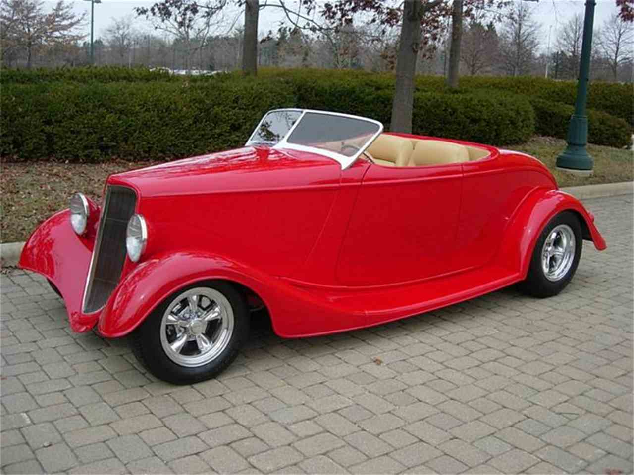 Large Picture of 1933 Ford Roadster Offered by JJ Rods, LLC - DW8B