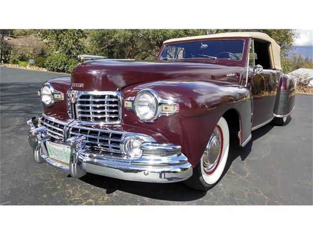 1948 Lincoln Continental | 649342
