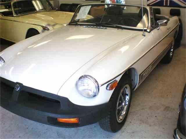 1980 MG MGB   652196