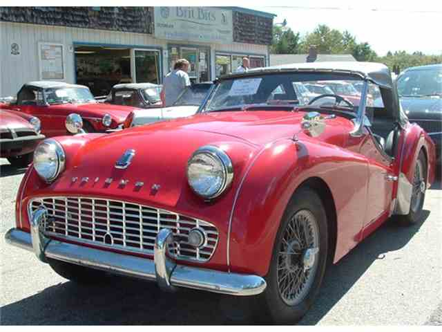 1958 Triumph TR3A | 652216