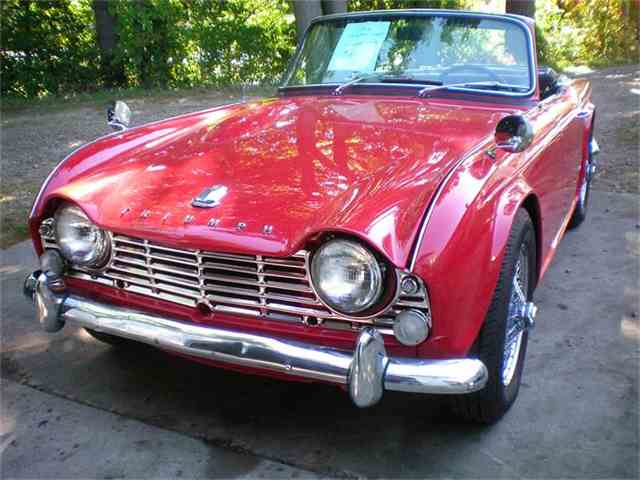 1965 triumph tr4 for sale on classiccars - 4 available