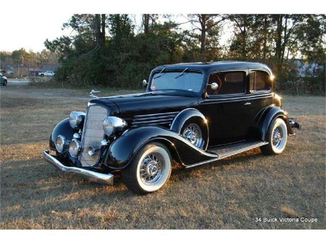 1934 Buick Series 50 Victoria Coupe | 652276