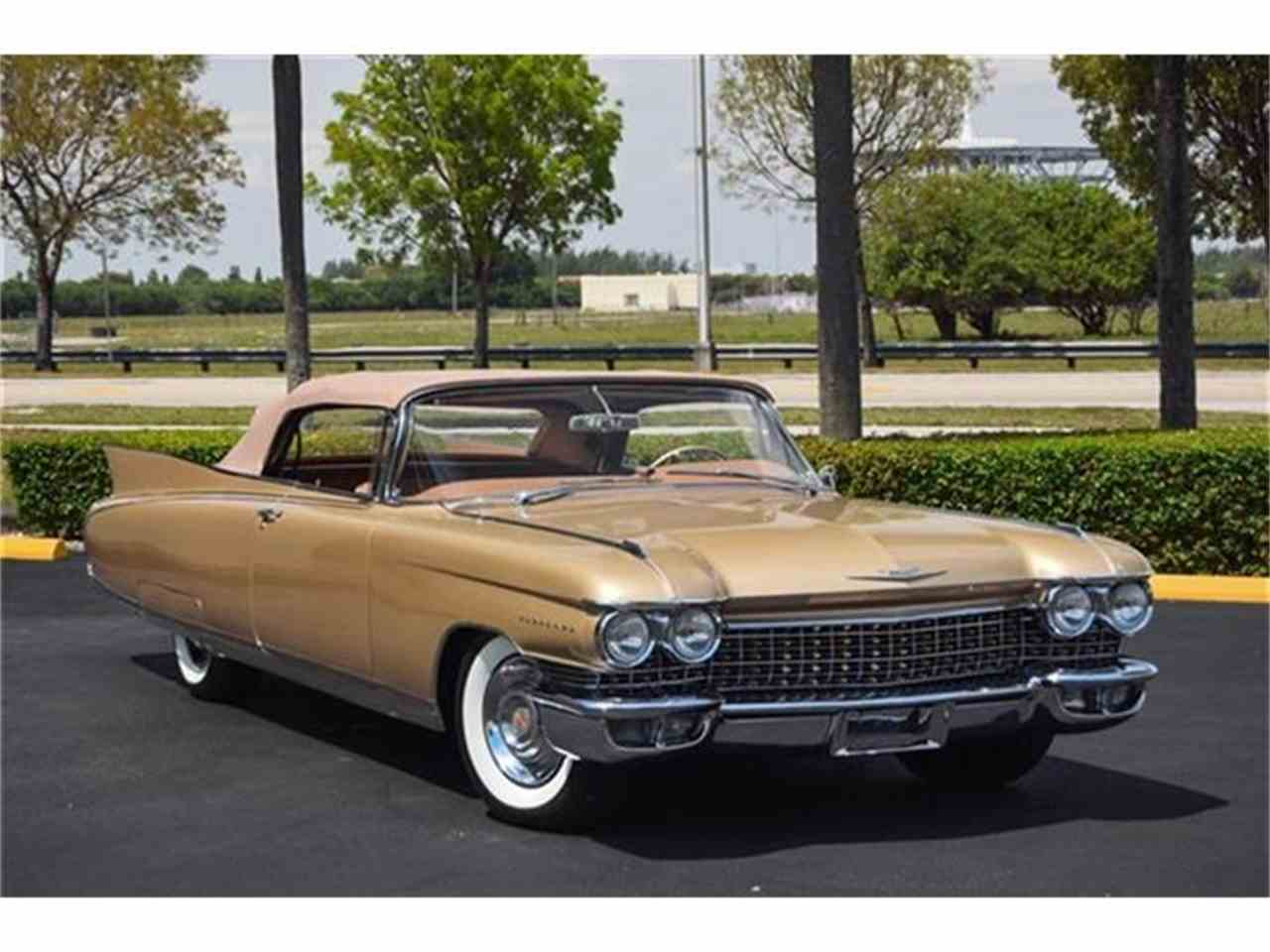 1960 cadillac eldorado biarritz for sale cc 653039. Black Bedroom Furniture Sets. Home Design Ideas