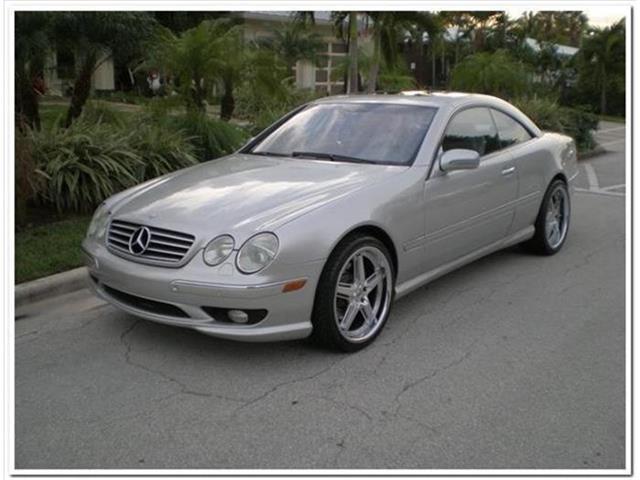 2001 Mercedes-Benz CL-Class   653137