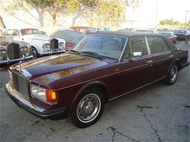 1986 Rolls-Royce Silver Spur   653145