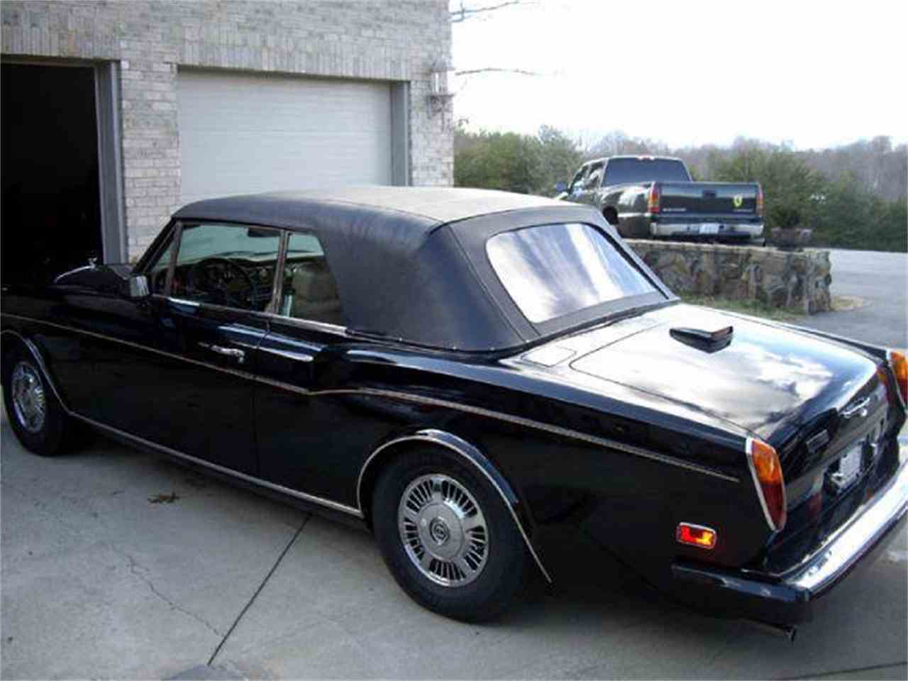 1985 rolls royce corniche for sale cc 653153. Black Bedroom Furniture Sets. Home Design Ideas