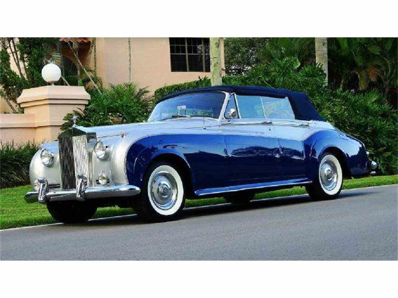 1962 rolls royce silver cloud for sale cc 653188. Black Bedroom Furniture Sets. Home Design Ideas