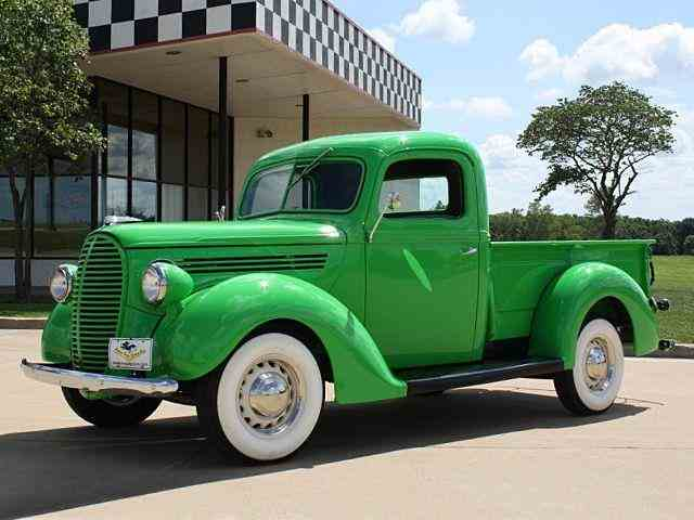 "1938 Ford 1/2 TON CUSTOM ""OLD SCHOOL HOT 