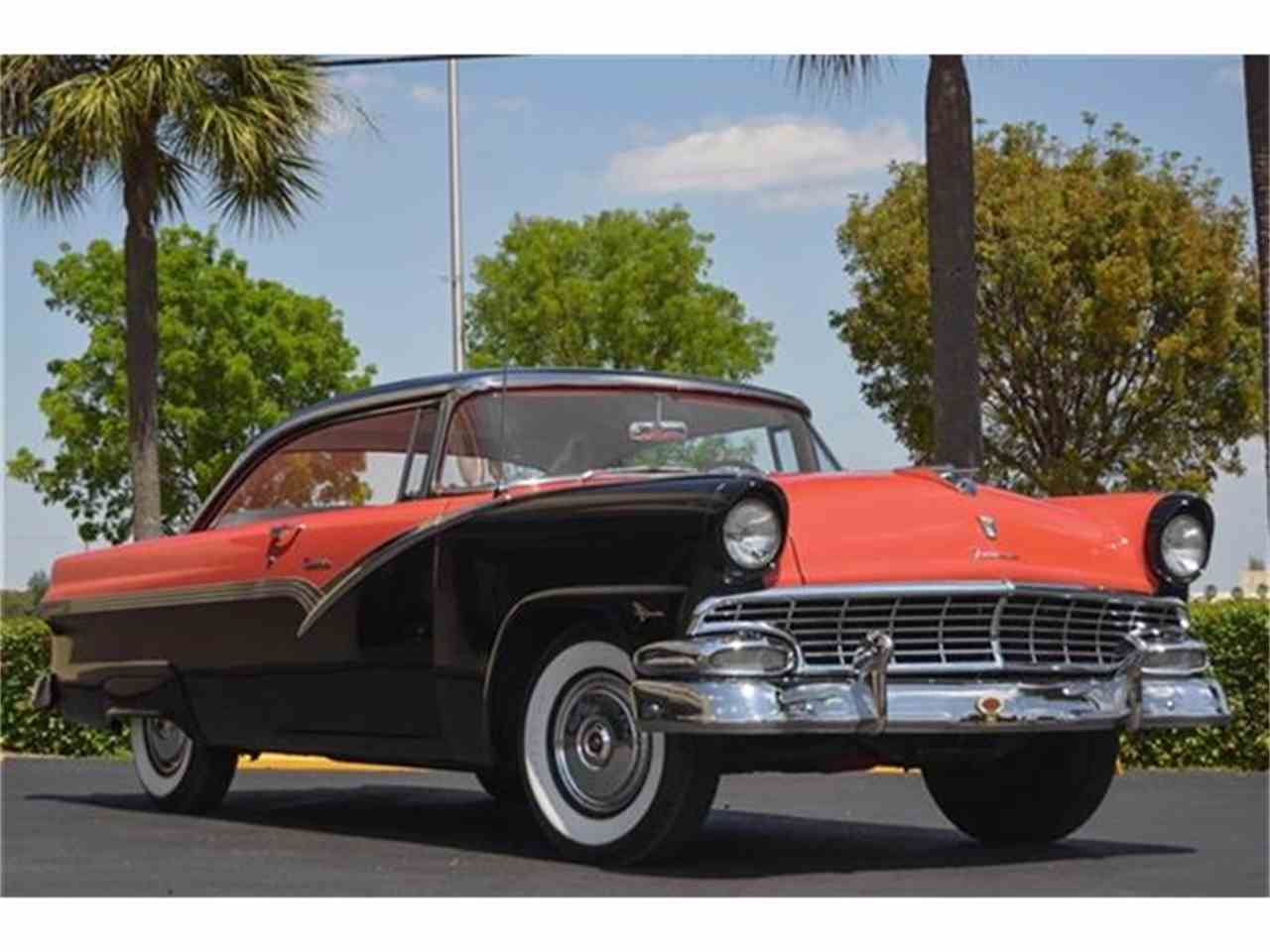 1956 ford fairlane victoria for sale cc 656808. Black Bedroom Furniture Sets. Home Design Ideas