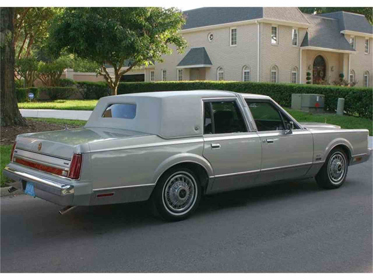 1987 Lincoln Town Car For Sale Classiccars Com Cc 658180