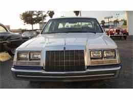 1984 Lincoln Continental for Sale - CC-661578
