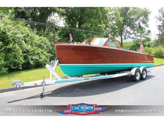 1950 Hutchinson 26' Utility Mahogany Boat   662117