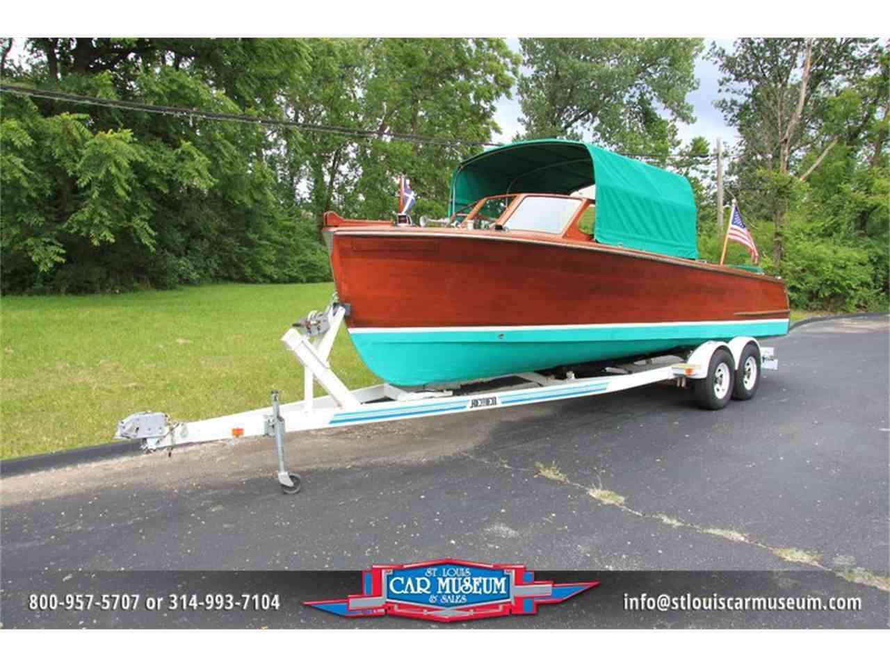 1950 Hutchinson 26 Utility Mahogany Boat For Sale