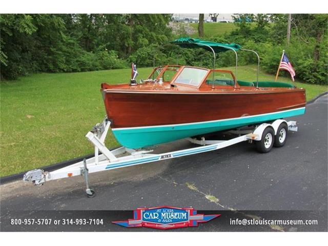1950 Hutchinson 26' Utility Mahogany Boat | 662117