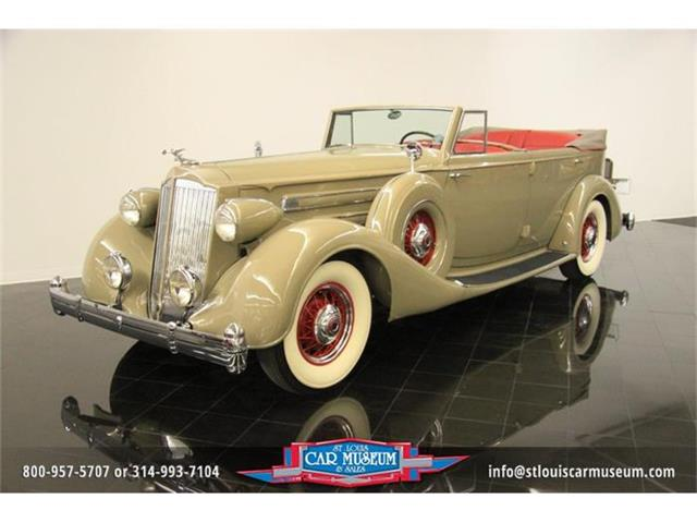 1936 Packard Twelve Model 1408 Convertible Sedan | 662137