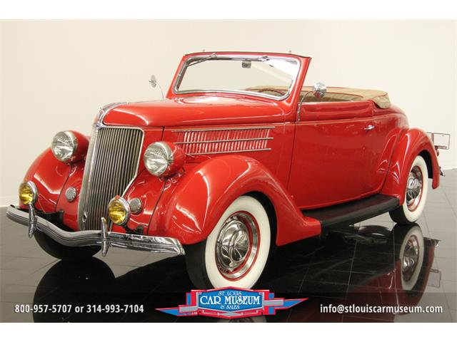 1936 Ford Model 68 Deluxe Rumble-Seat Cabriolet | 662157