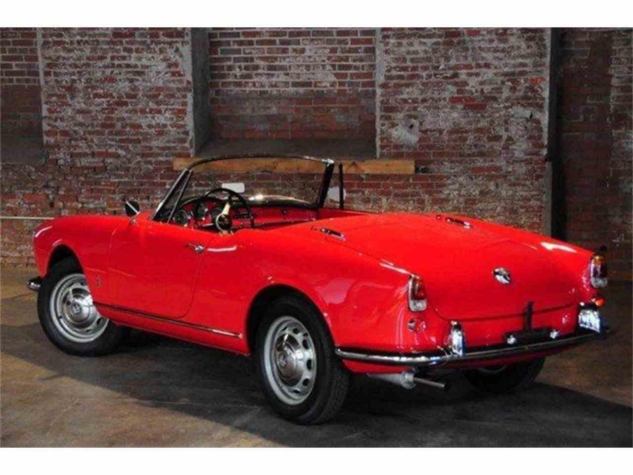 1960 Alfa Romeo Giulietta Spider For Sale