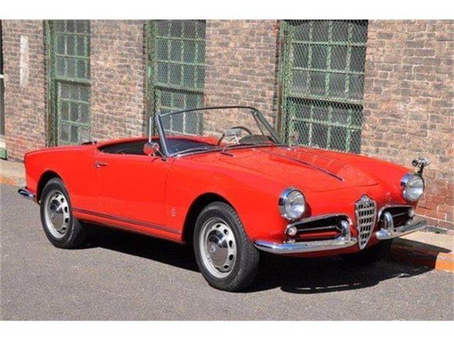 1960 Alfa Romeo Giulietta Spider | 665150