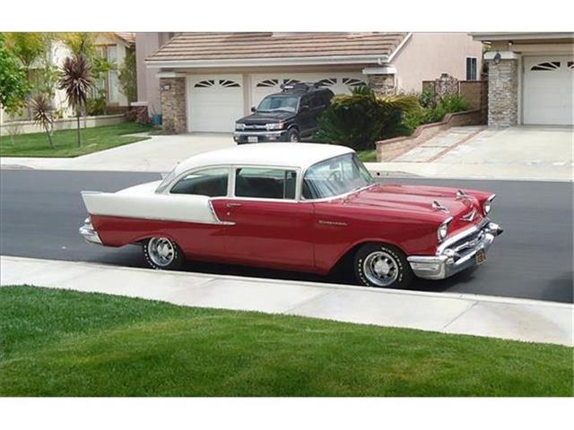 1957 Chevrolet 2-Dr Coupe   666603
