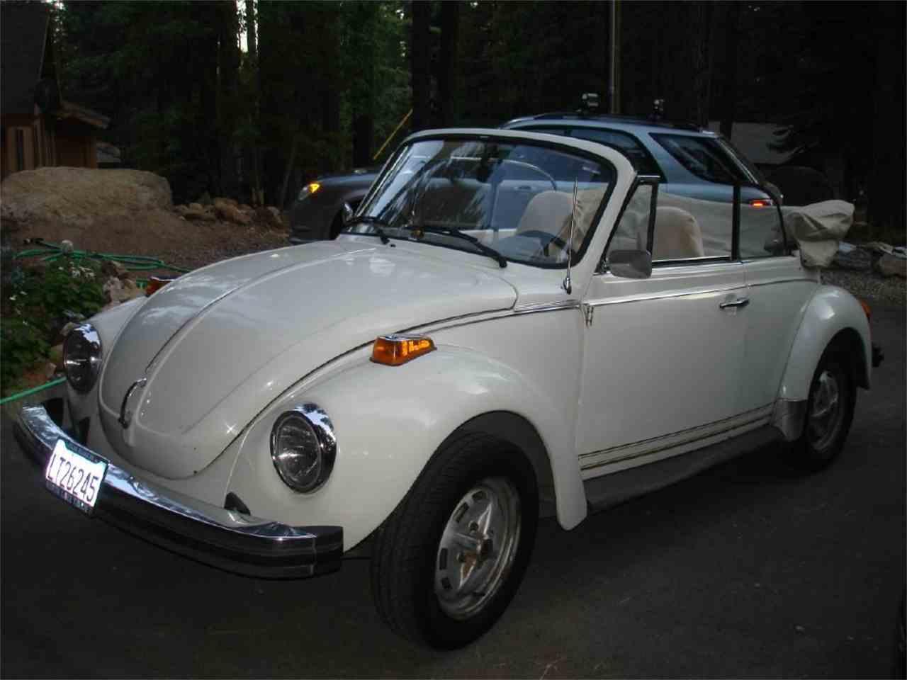 1978 volkswagen super beetle for sale for Garage volkswagen 78 chambourcy
