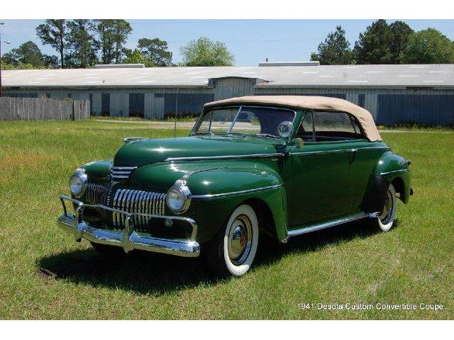 1941 Desoto Custom Convertible Coupe | 666878