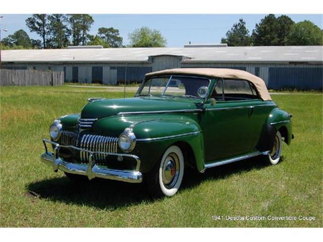 1941 Desoto Custom Convertible Coupe | 666878