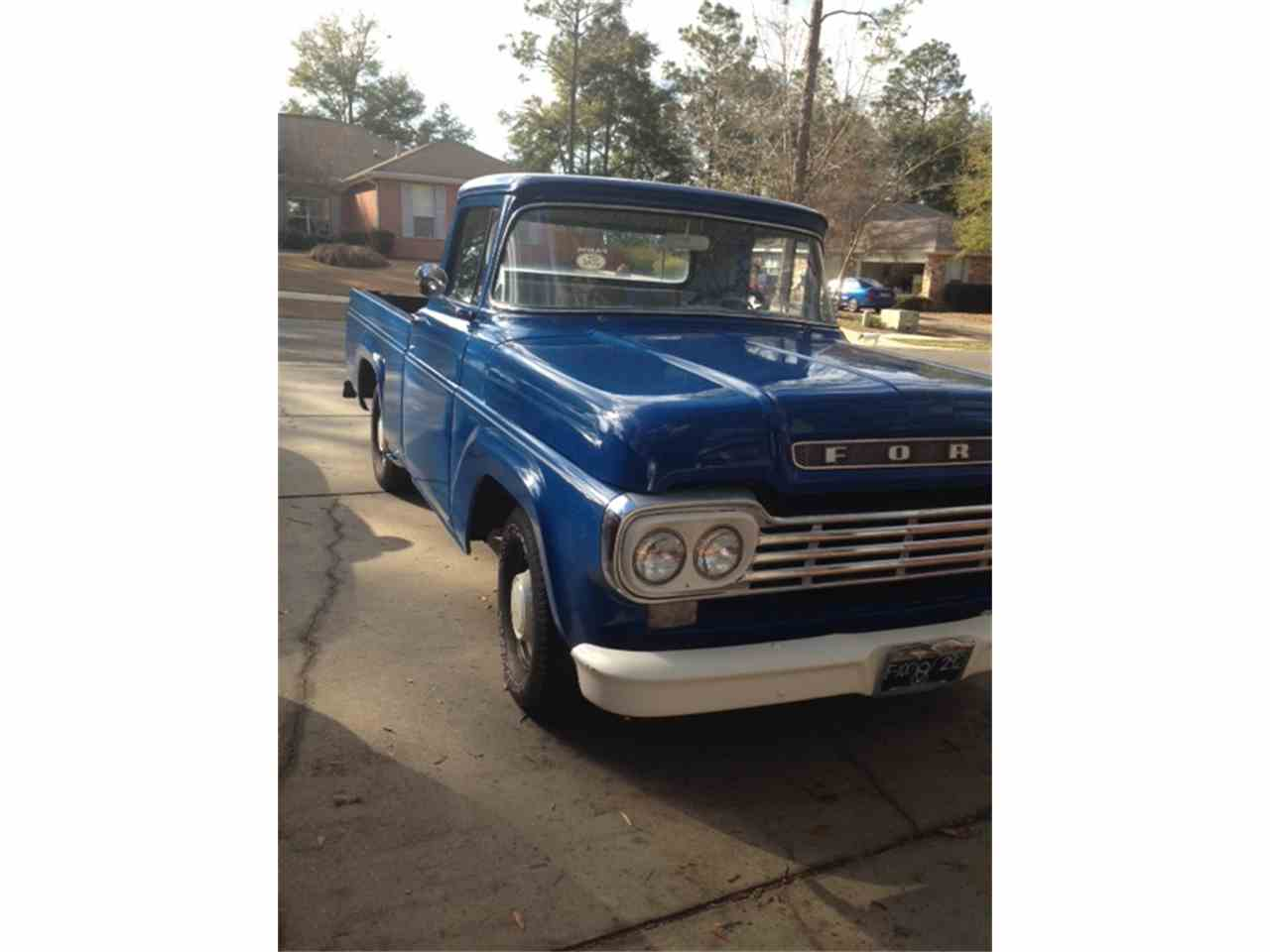Large Picture of '58 F100 - EC4Z