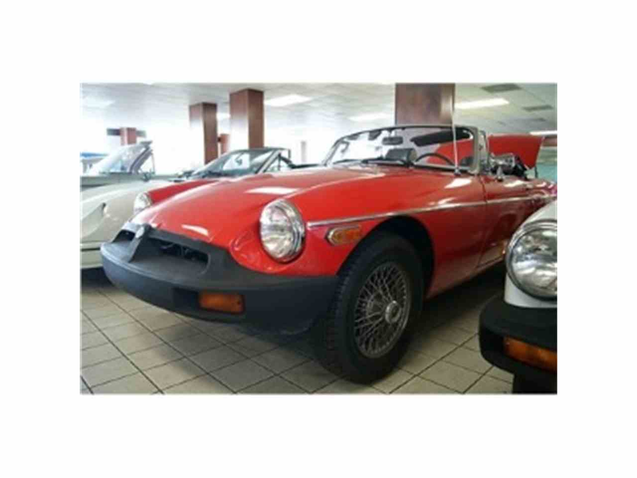 Large Picture of '78 MGB - EDX9