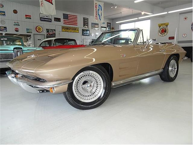 1964 CHEVROLET CORVETTE FACTORY AC, TWO TOPS | 671262