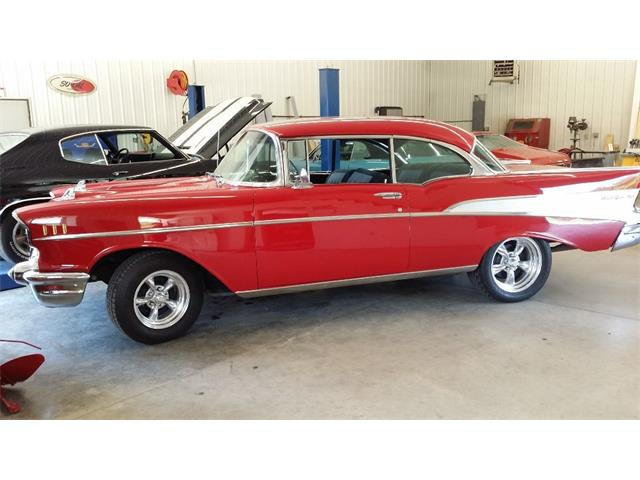 1957 CHEVROLET BEL AIR HARD TOP | 674285