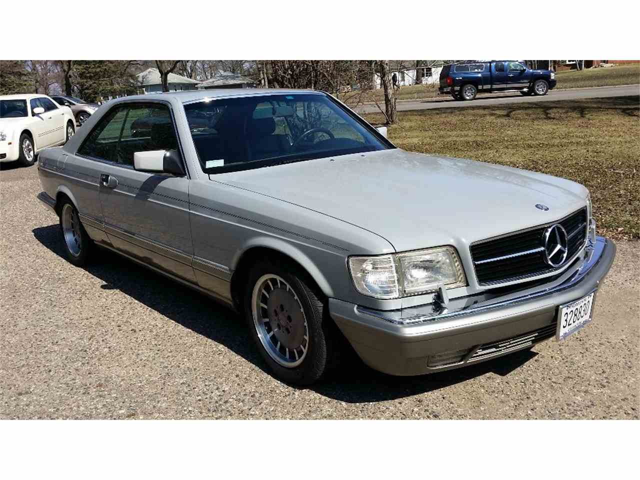 1987 mercedes benz 560sec for sale cc for Minnesota mercedes benz dealers